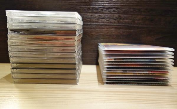 音楽CDをスリムに収納 メディアパス