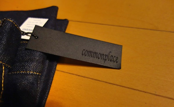 commonplace デニム