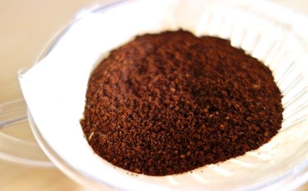 挽きたてコーヒー粉
