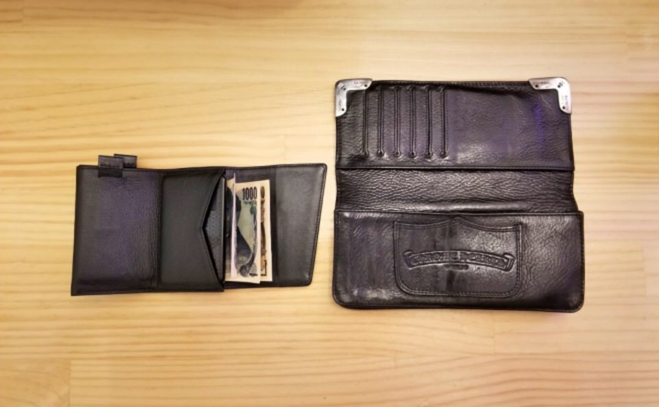 SPEED WALLET&CHROME HEARTS