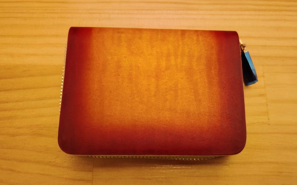 元ギター職人が作ったミニ財布 sunRosso